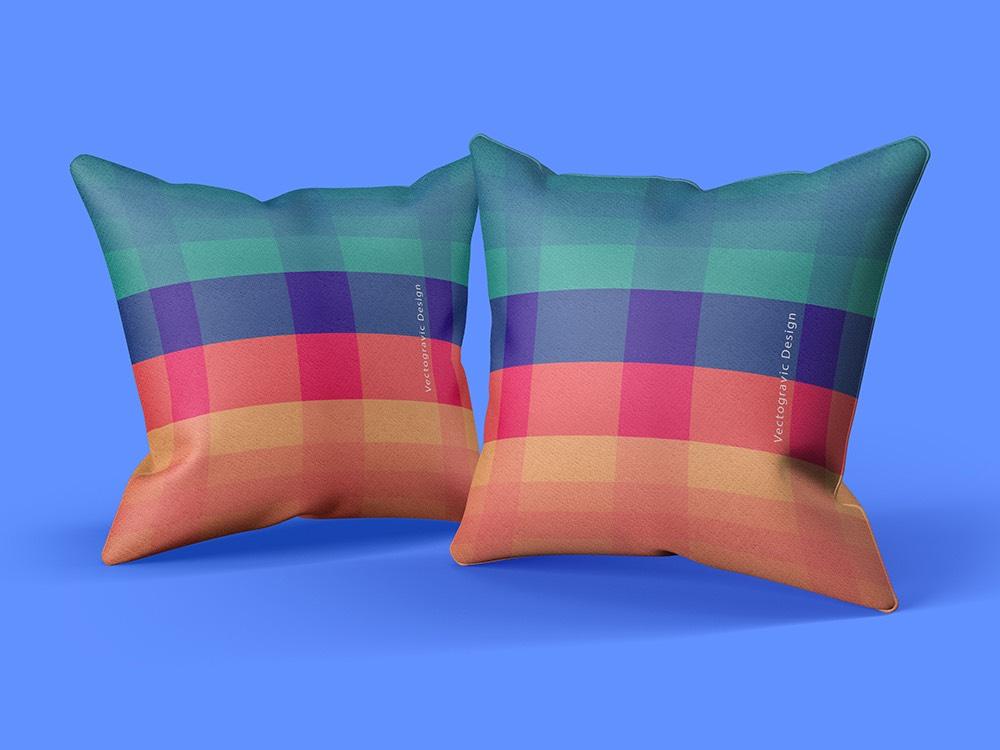 Customizable Pillow Free PSD Mockups