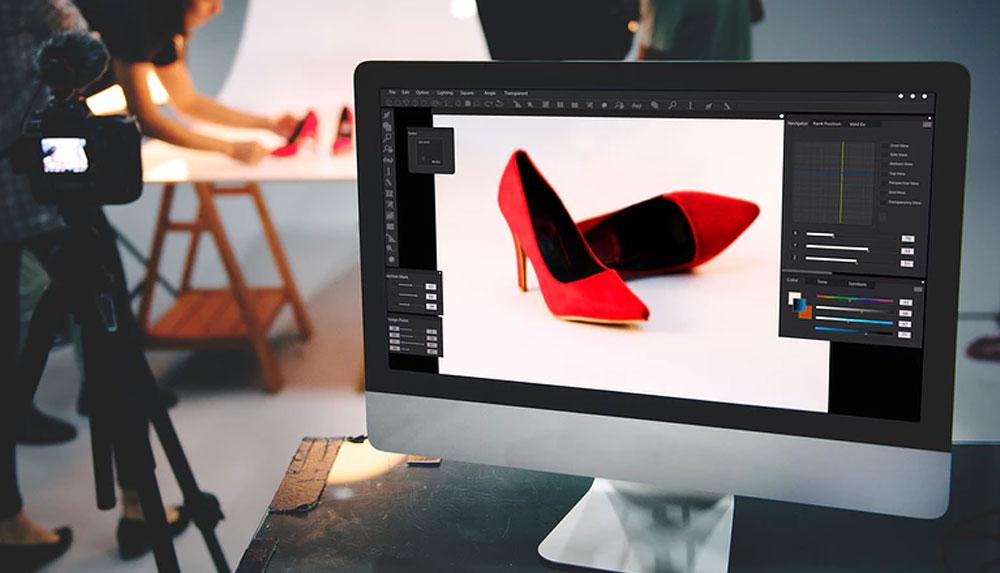 Heels Product Shoot in a Studio