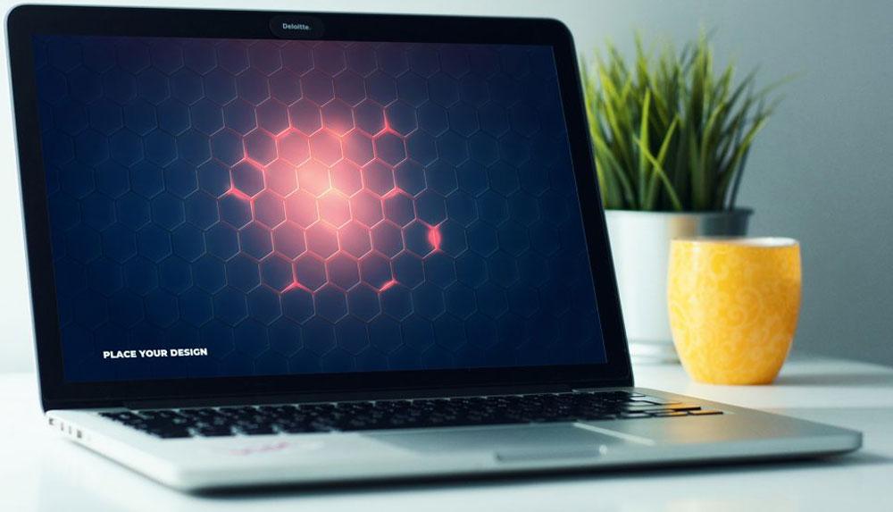 Stunning MacBook Mockup Free Template