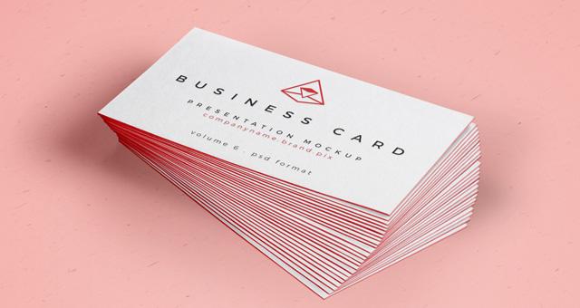 PSD Business Card Mock Up