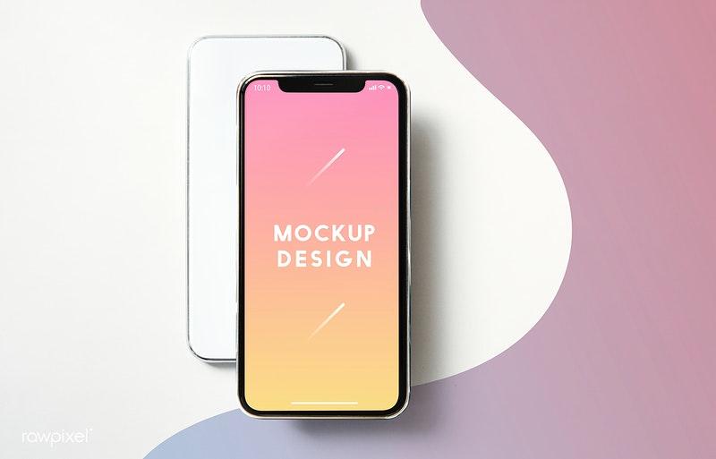 Mobile Phone Mockup Design