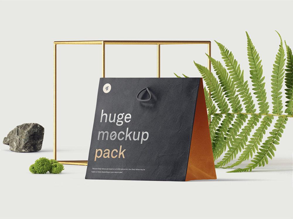Free bag mockup PSD