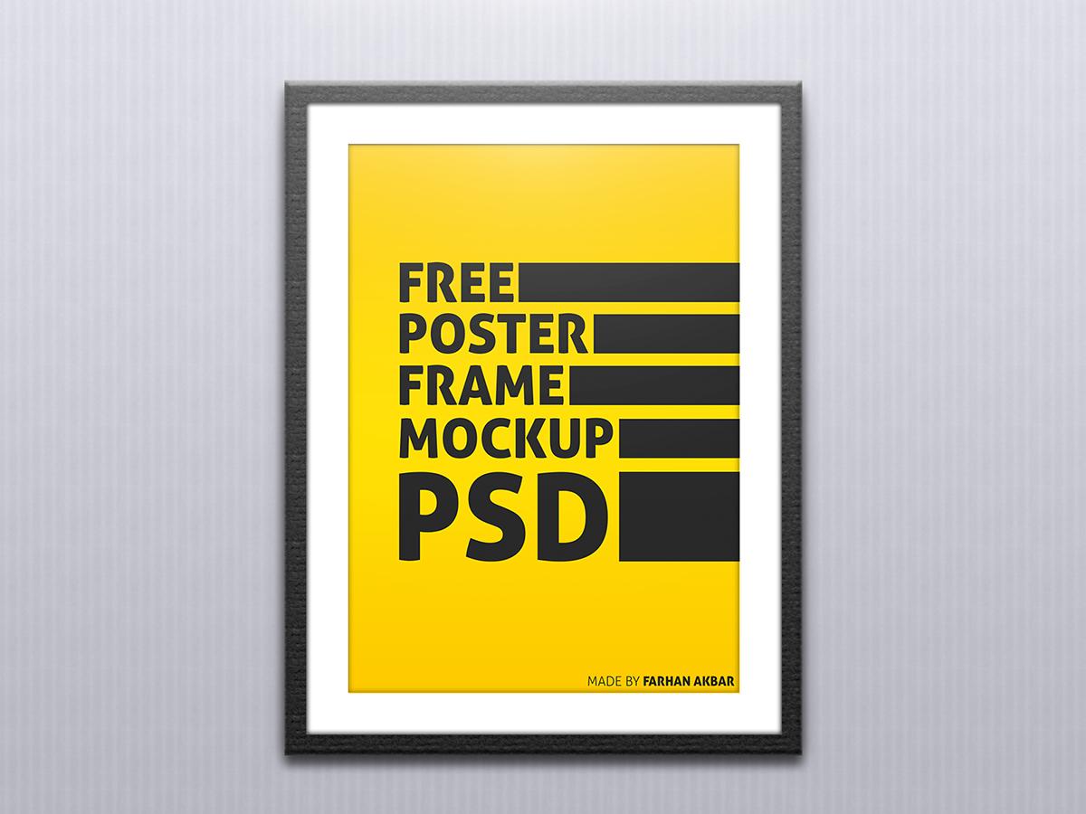 Versatile Poster Frame Mockup