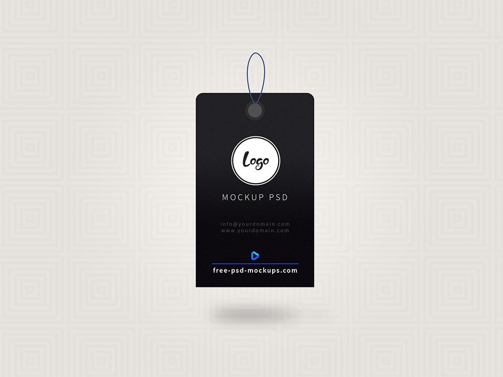 Brand Label Design PSD Mockup