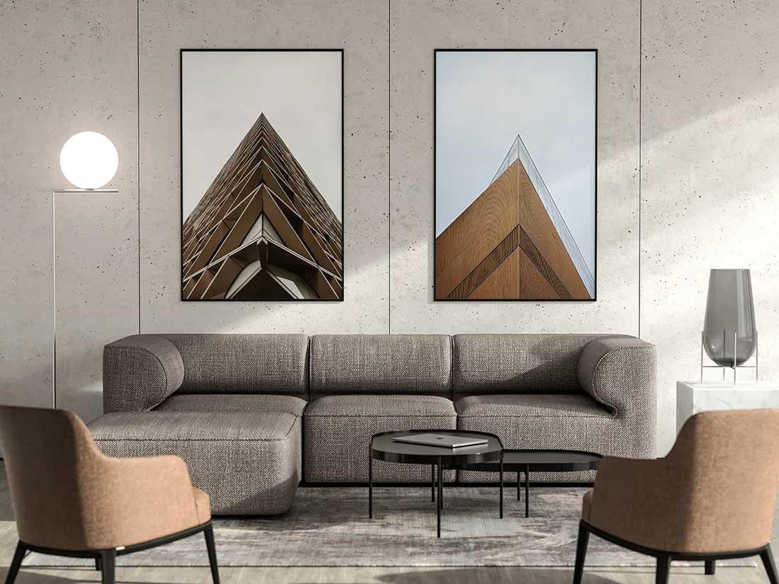 Modern Poster Mockup