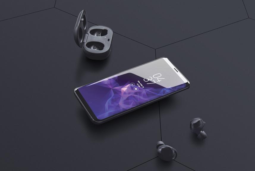 Galaxy S9 Plus Smartphone Free Mockup