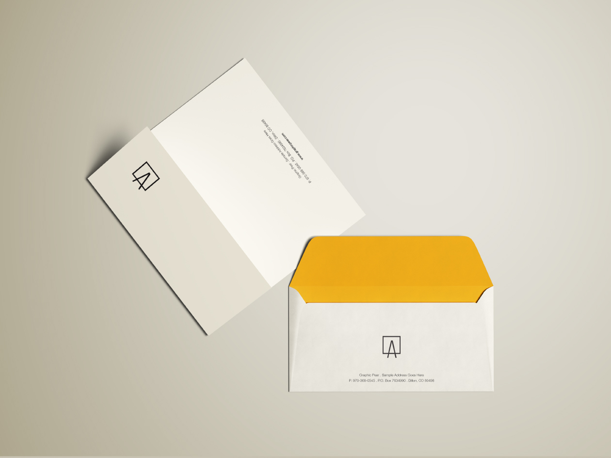 Envelope Letterhead Mockup