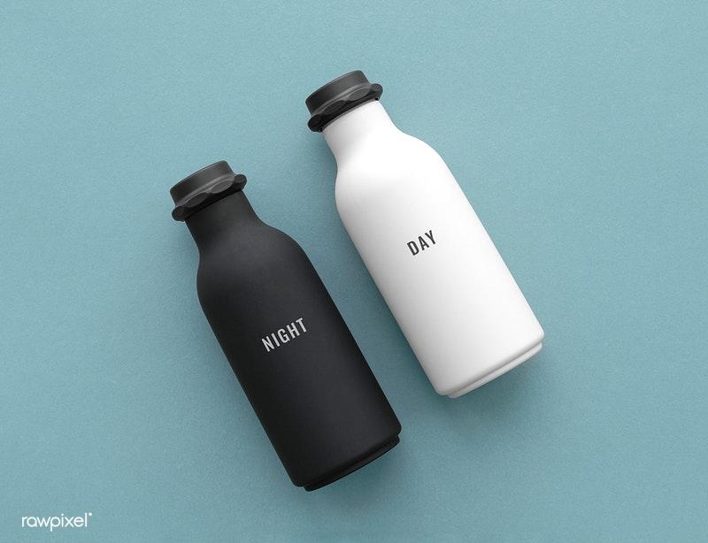 water bottle Mockup Design