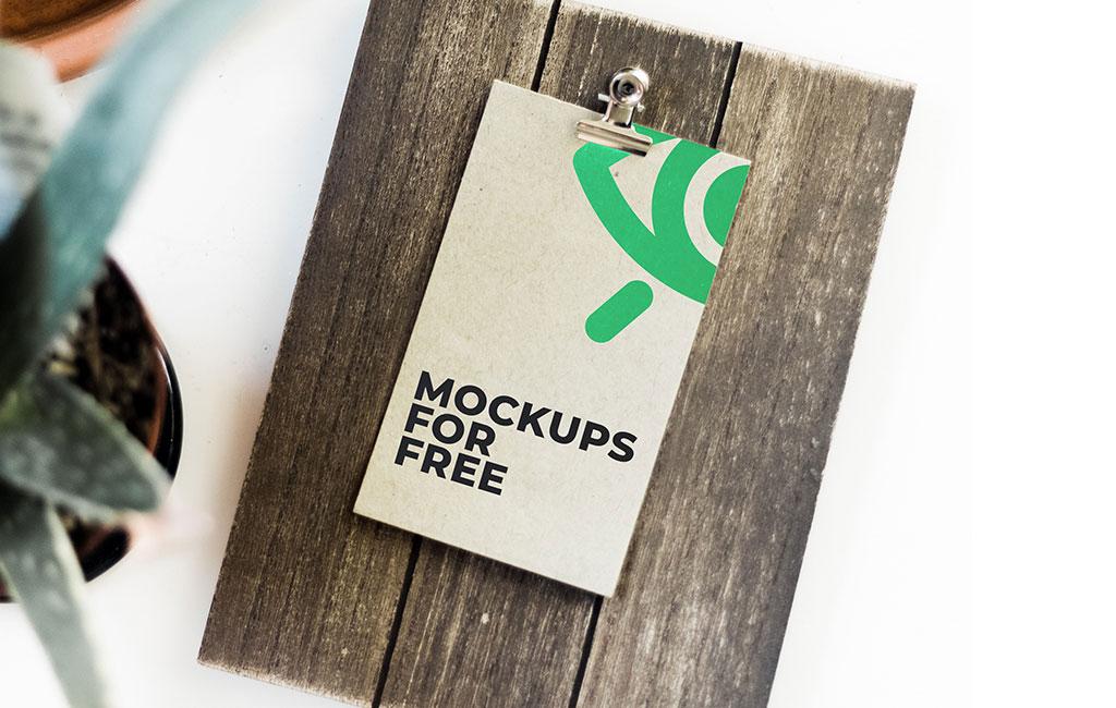 Clipboard Mockup