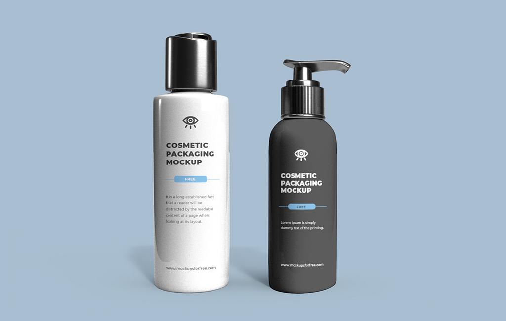 Cosmetic Packaging Mockup