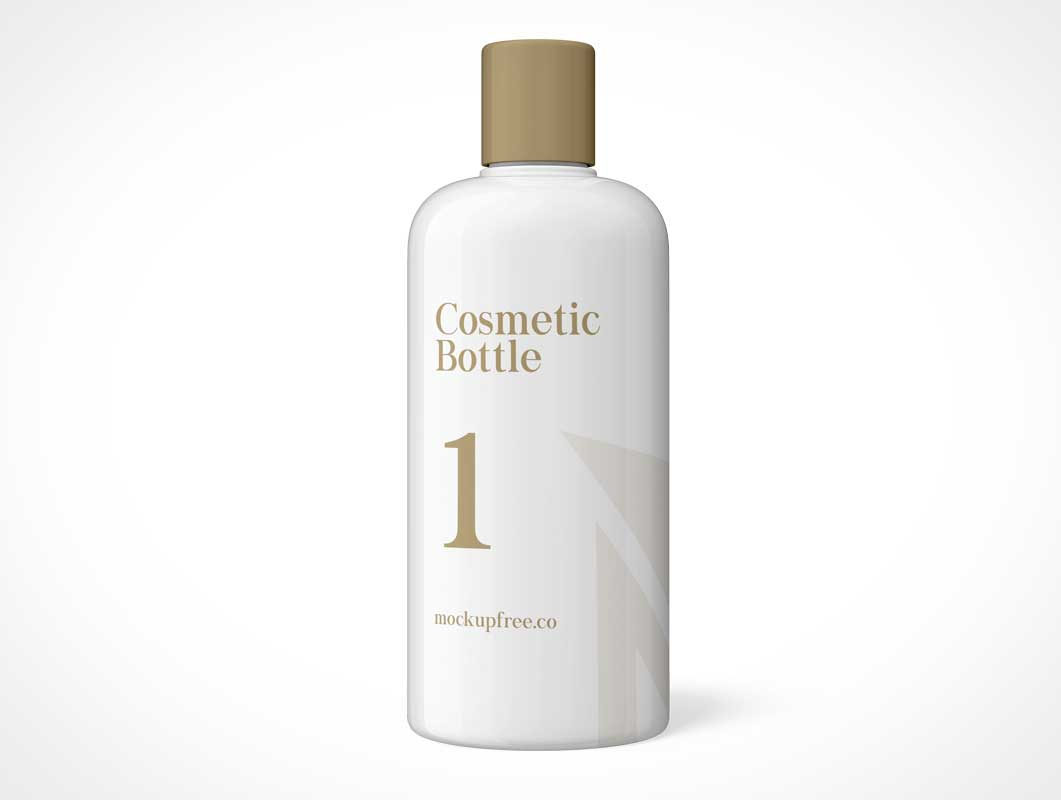 Cosmetic Bottle Free PSD Mockup