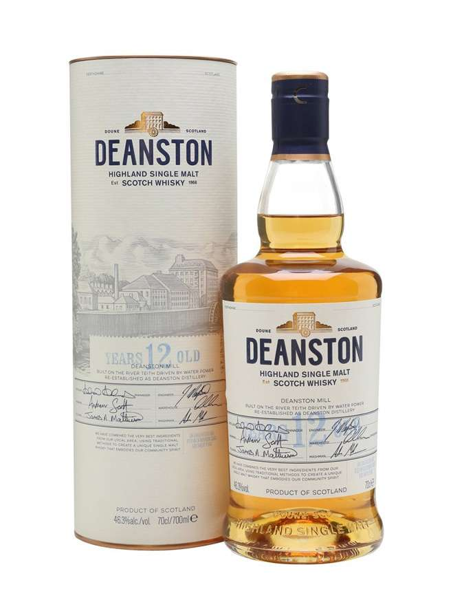 Deanston 12 Year Old Un-chillfiltered
