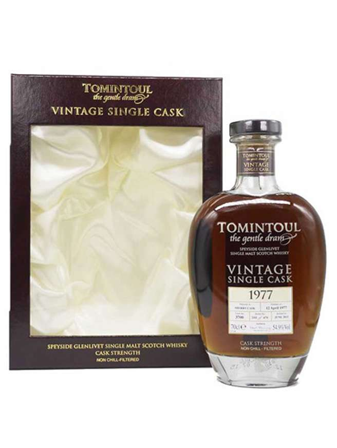 Tomintoul 1977 38 Year Old Vintage Sherry Cask