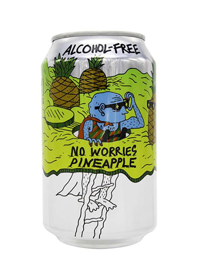 Lervig No Worries - Pineapple