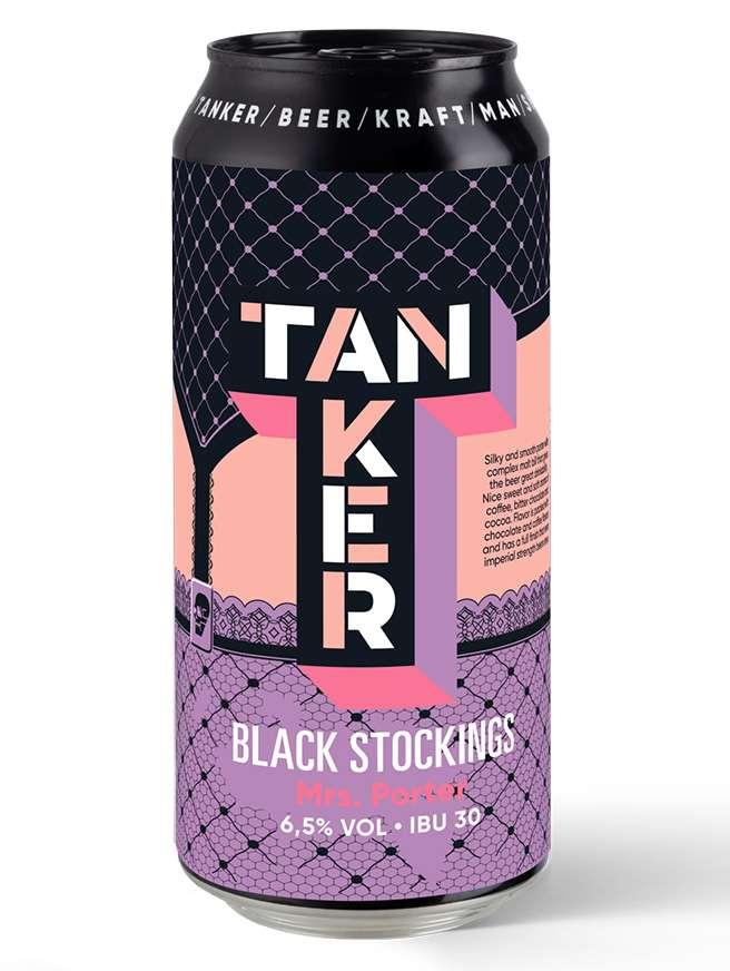 Tanker Black Stockings