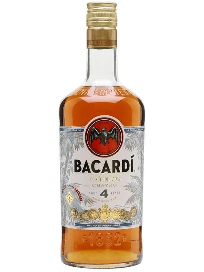 Bacardi Cuatro 4 Anejo