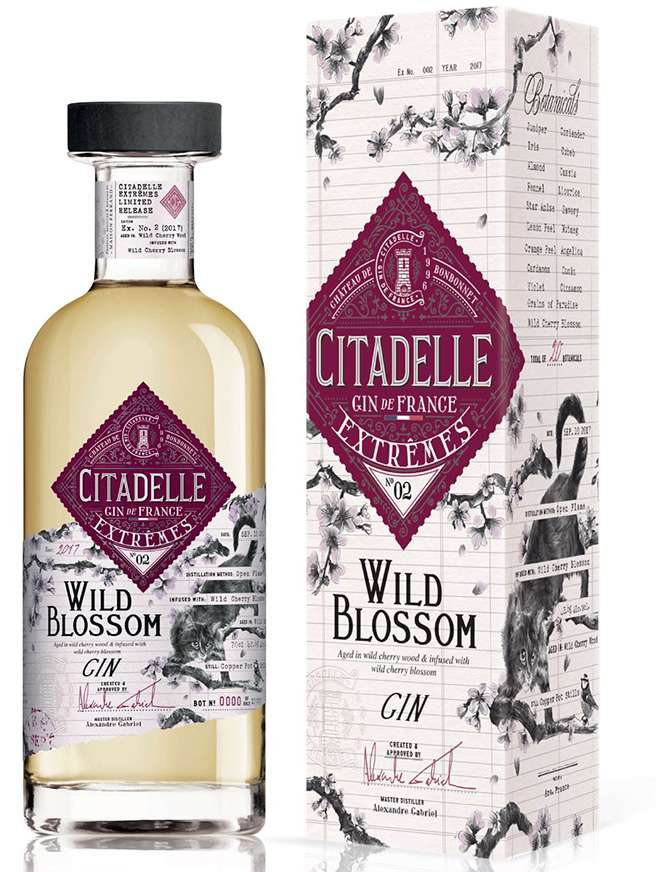 Gin Citadelle Extremes N2 Wild Blossom