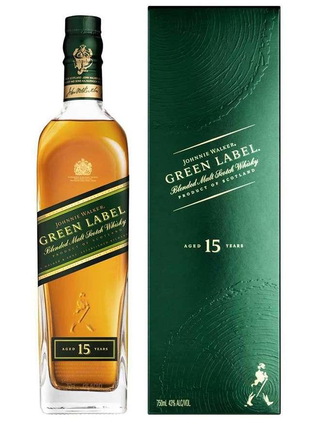 Johnnie Walker Green Label 15 Anos