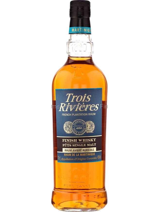 Trois Rivieres Rhum Ambré Finish Single Malt Whisky