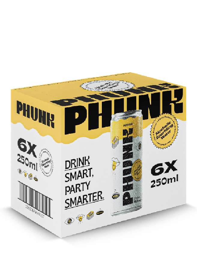 Phunk Manga Hard Seltzer