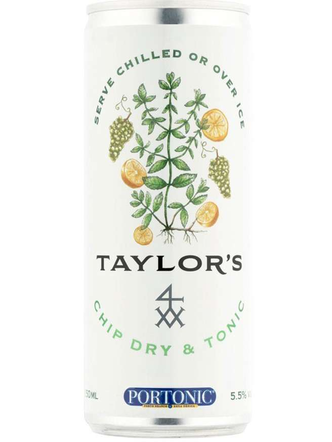 Lata Taylor's Chip Dry & Tonic