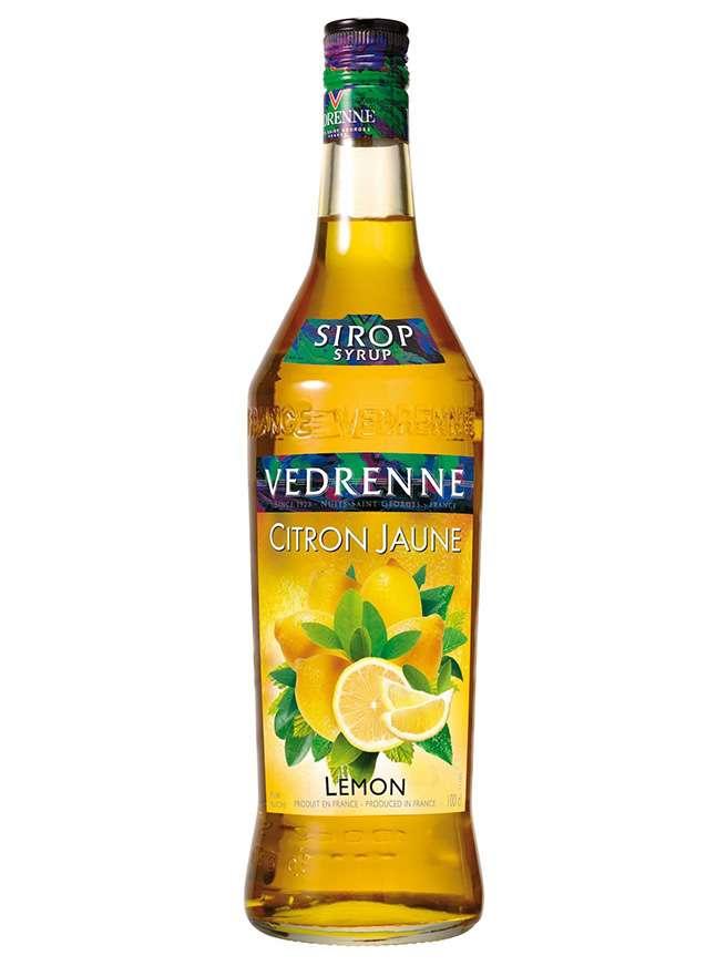 Vedrenne Sirop Citron Jaune