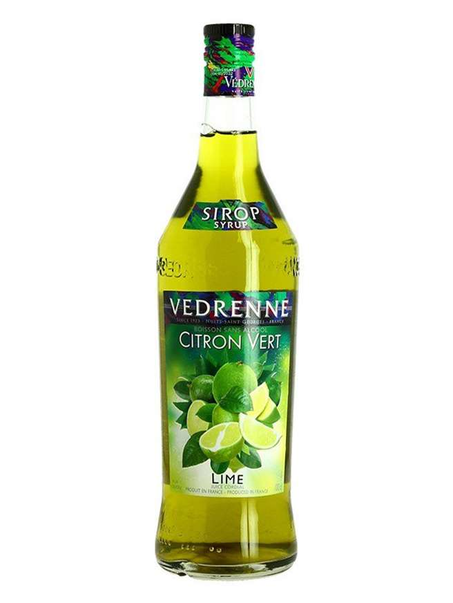 Vedrenne Sirop Lime Citron Vert