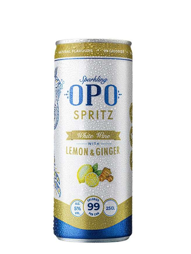 OPO Spritz Lemon Ginger Slim Can