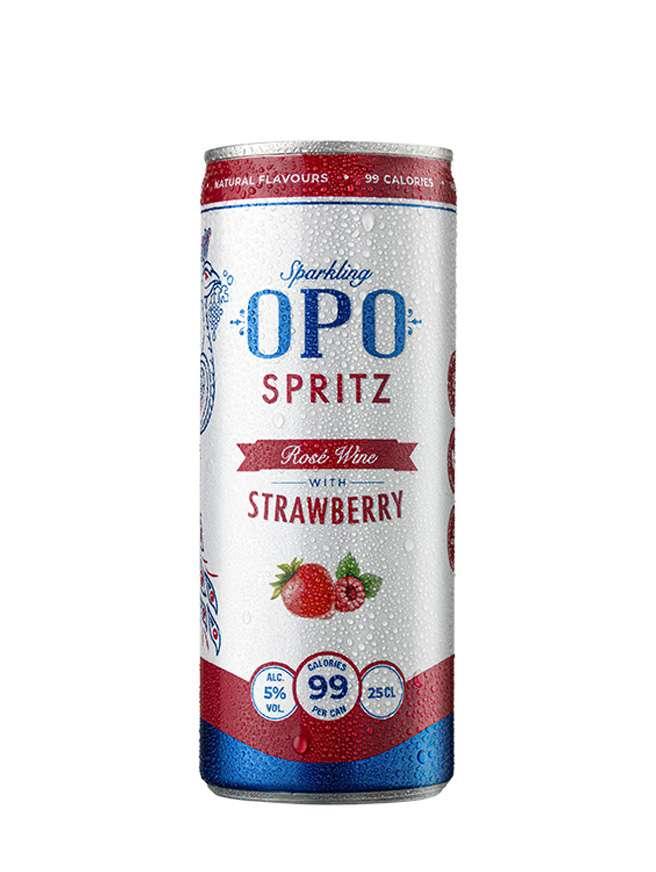 OPO Spritz Strawberry Slim Can