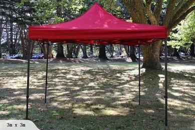 Portable canopy 3m x 3m
