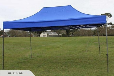 Portable canopy 3m x 4.5m