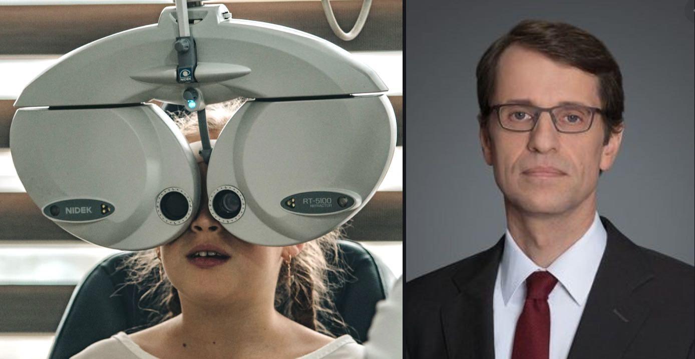 Hungarian Scientist Wins €1 Million Prize For Groundbreaking Research That Could Eventually Restore Sight in Blindness