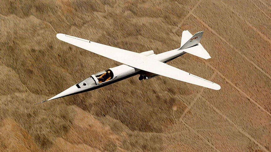 Cutting Through the Air With Scissor Wings: The Oblique-Winged NASA AD-1