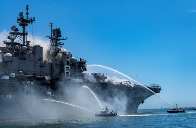 US destroyer docks in Sudan for the first time in decades
