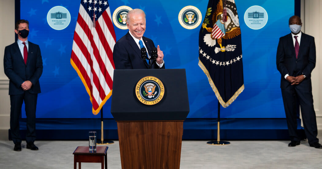 Live Updates: Biden Signs $1.9 Trillion Stimulus Bill