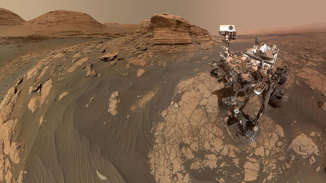 """Mars rover beams back dramatic selfie at majestic """"Mont Mercou"""""""