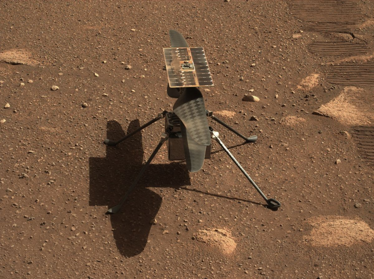 NASA's Mars helicopter Ingenuity won't fly until next week at the earliest