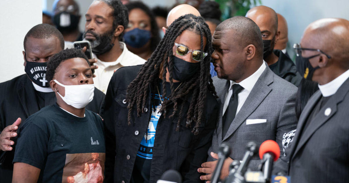 Andrew Brown Jr. was shot in the back of the head by police, family attorney says