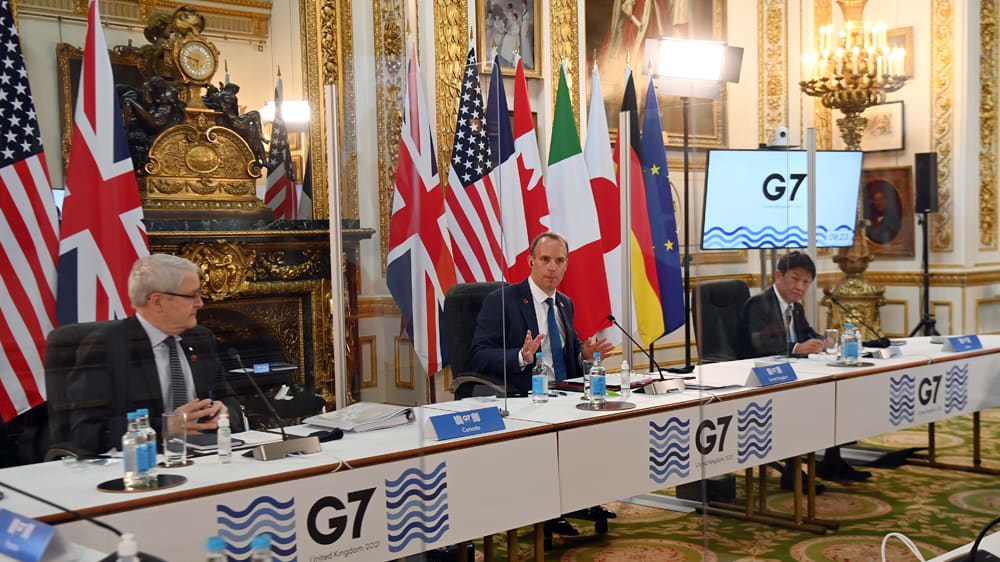 COVID scare at London G7 as India delegates test positive: Live