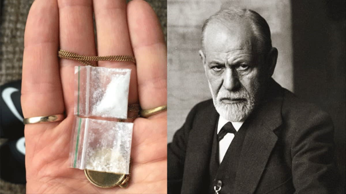 A Brief History of Freud's Love Affair with Cocaine