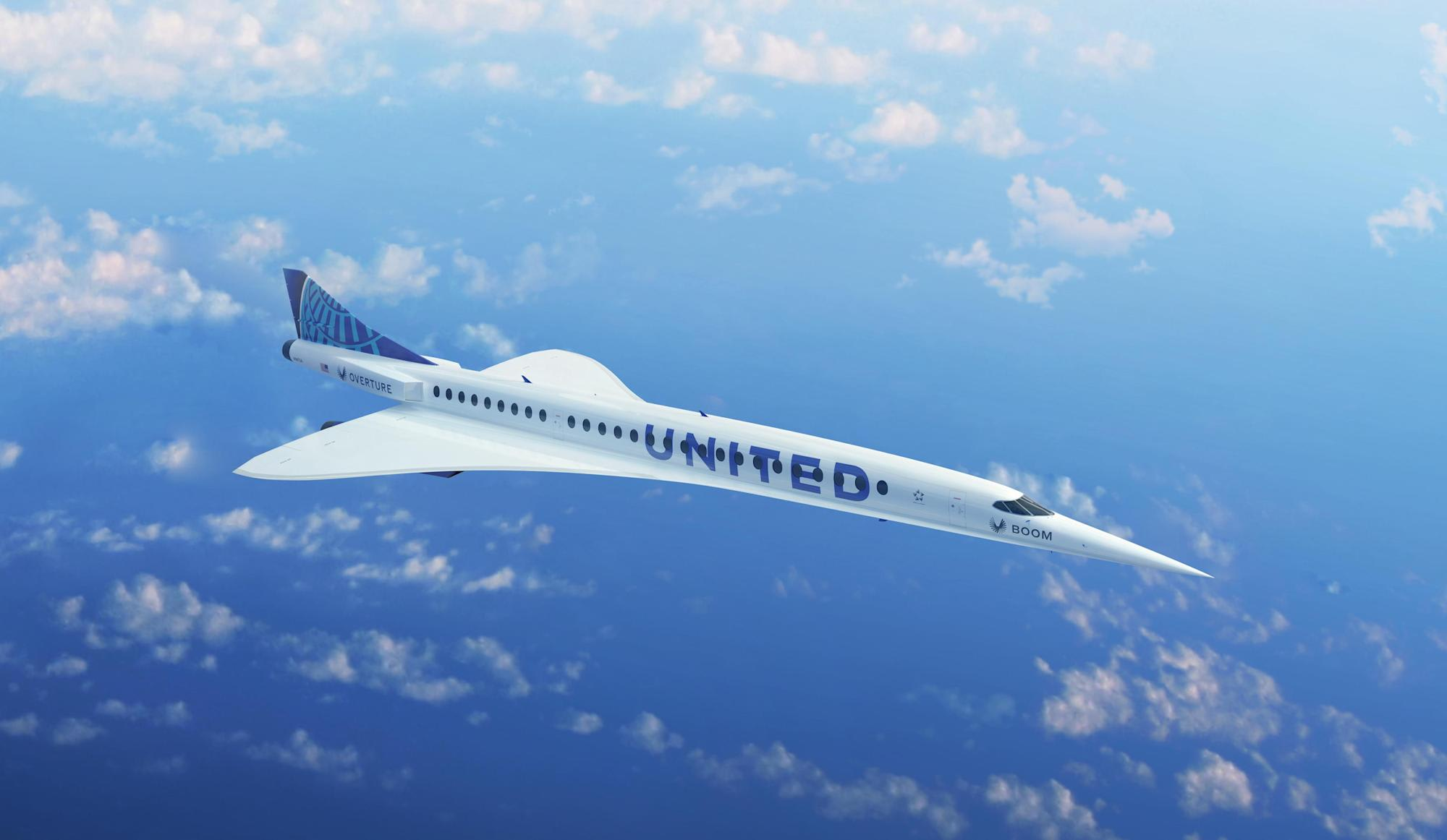 United Airlines agrees to purchase 15 Boom supersonic airliners