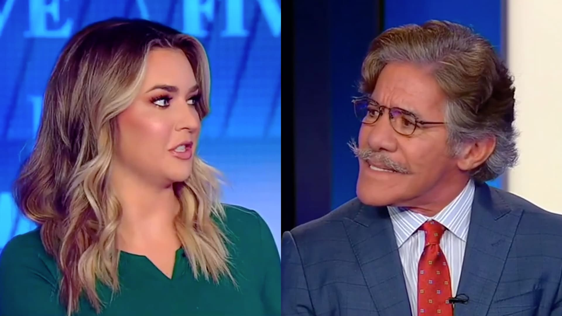 Geraldo defends Kamala Harris after Fox News co-host insults her: 'That's so mean'
