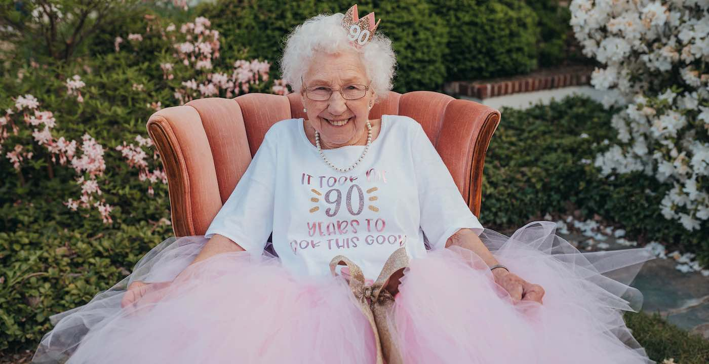 This Grandma Turned 90 And Had a Blast at Her Princess-Themed Birthday Party – LOOK