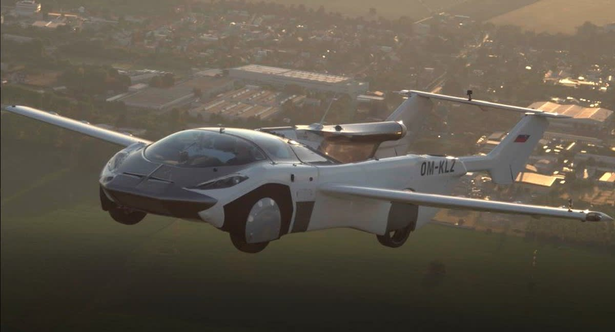 Flying Car Completes First-Ever Flight Between Airports –Then Transforms Back into a Sports Car in 3 Minutes