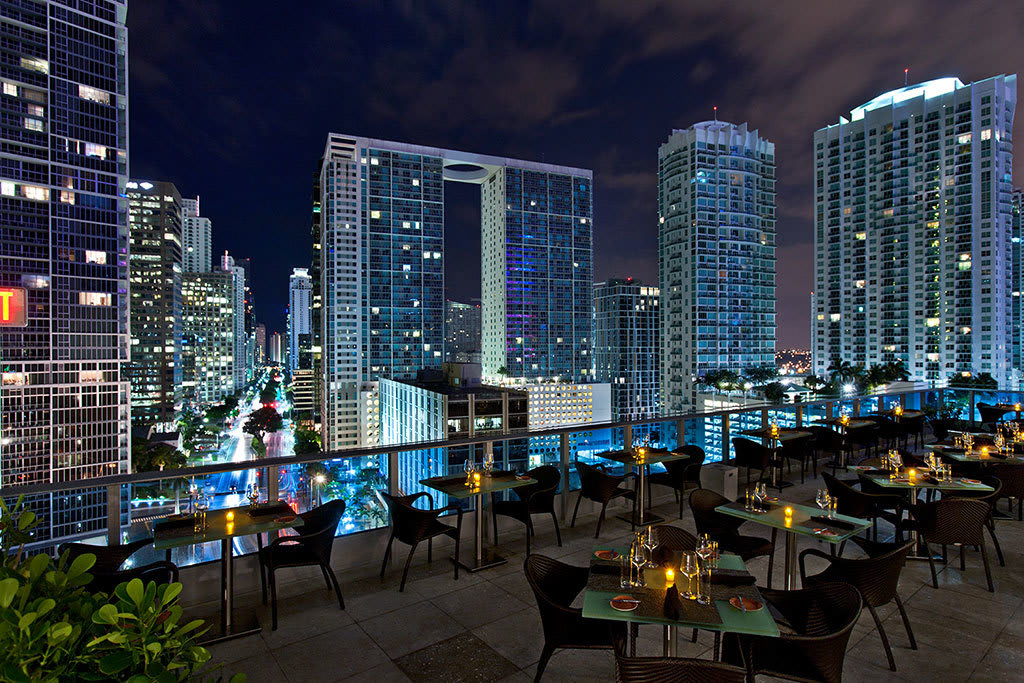 The absolute best rooftop bars in Miami, from South Beach to Brickell