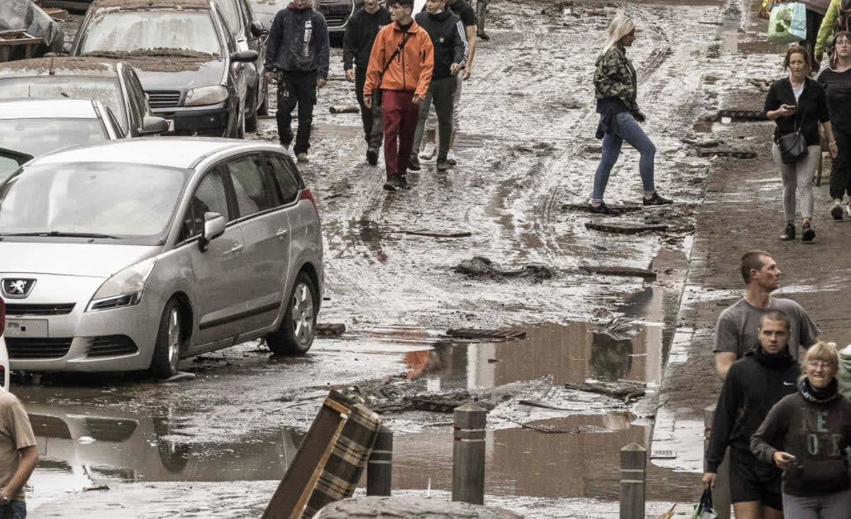 As deadly floodwaters recede in Europe, climate crisis comes into view