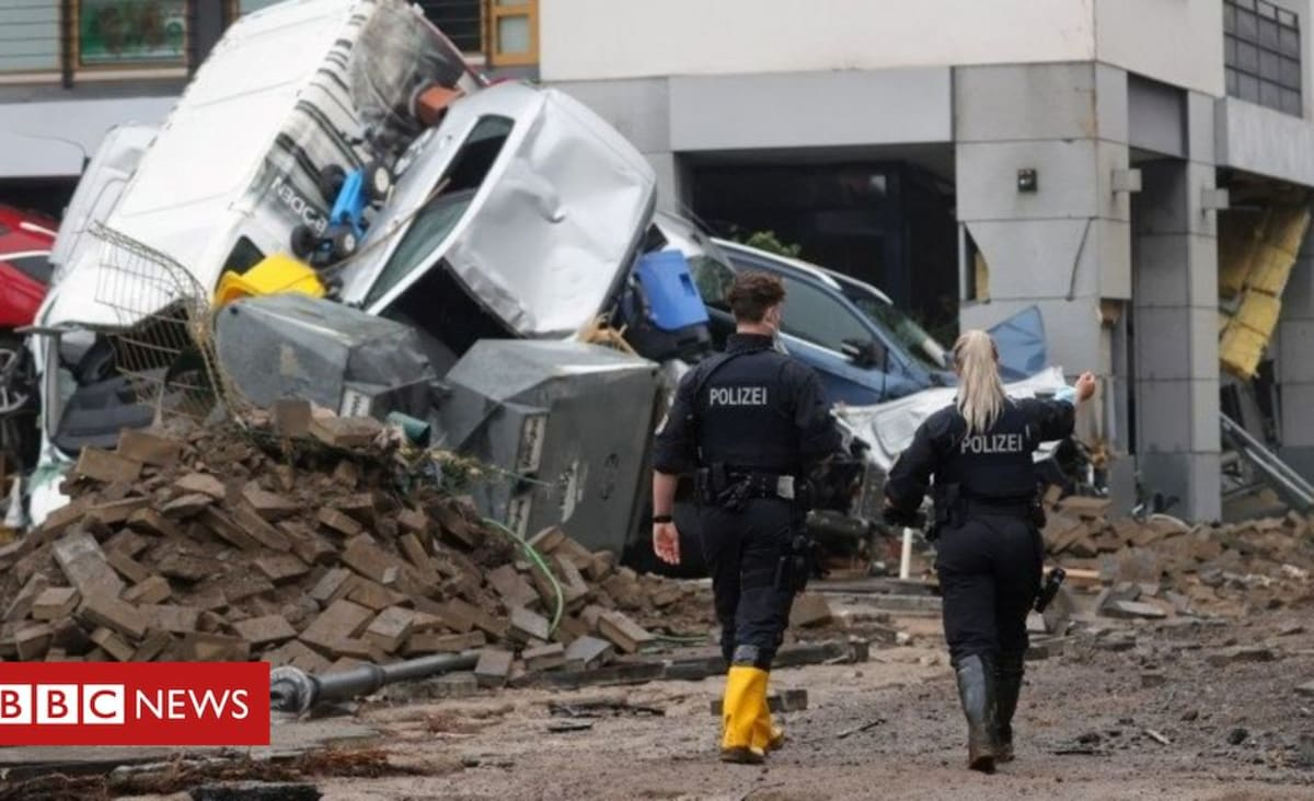 Europe floods: Victims face massive clean-up as waters recede