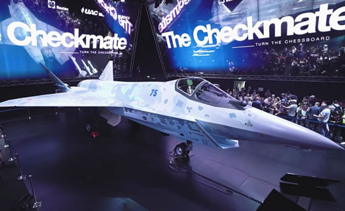 Russia Unveils Fifth-Generation Fighter Jet To Take On F-22s, F-35s