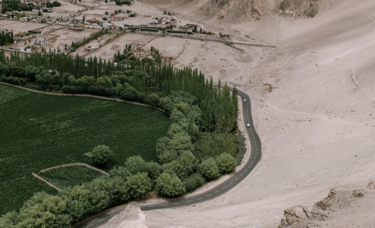 How Is China Turning Deserts Into Arable Lands?