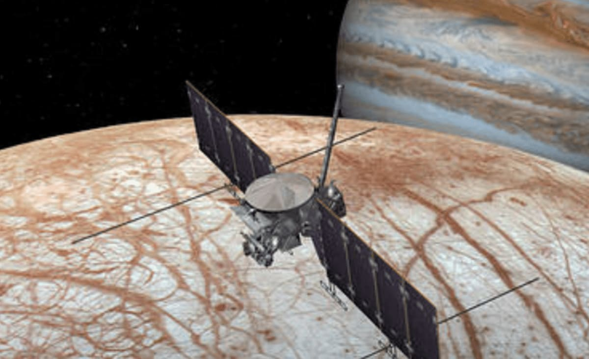 NASA Gives SpaceX $178 Million to Launch Europa Mission